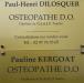 Cabinet D'ostéopathie Dilosquer Paul-henri, Kergoat Pauline (collaboratrice) Et Antoine François (collaborateur)à JOSSELIN
